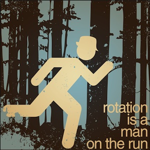 Michael Edwards - Rotation Is a Man on the Run